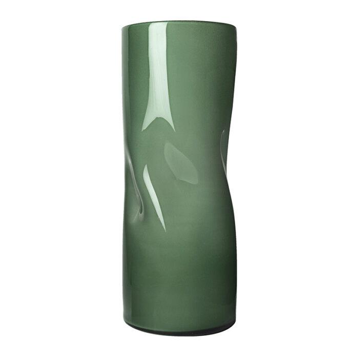 Le vase à pinces vert anglais