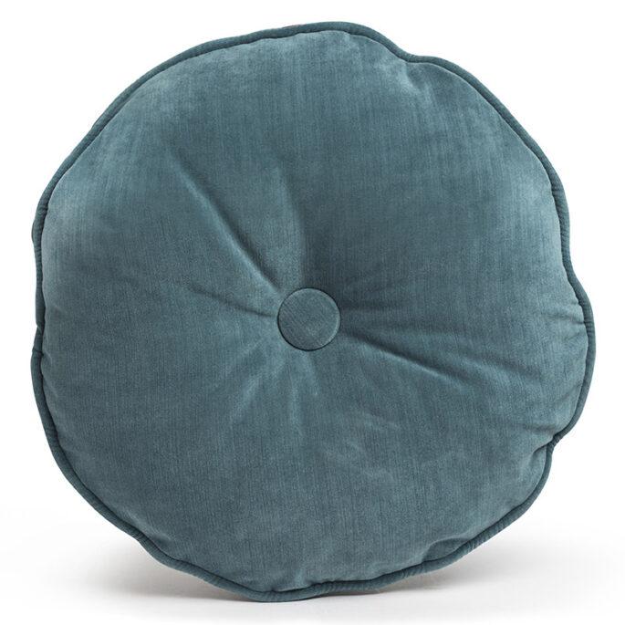 Le rond de velours bleu