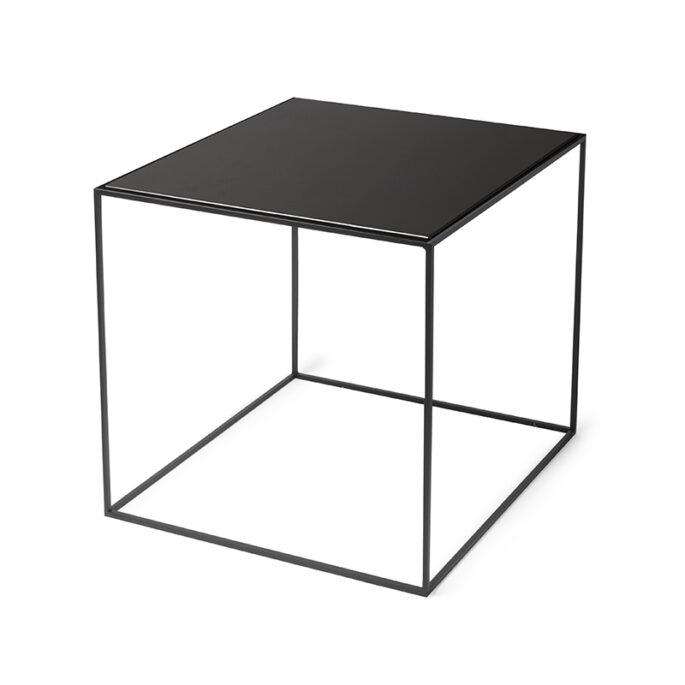 La table ficelle noire mat